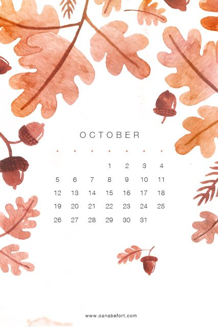 All sizes | iPhone October Calendar 2014 | Flickr - Photo Sharing!