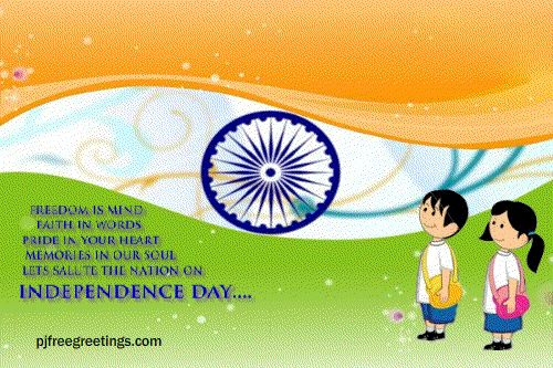Happy Independence Day Animated