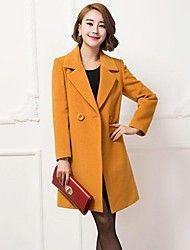 mode de revers de manteau de cachemire élégant tr... – EUR € 39.99