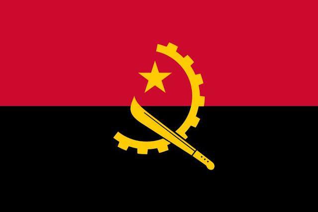 معلومات حول دولة أنجولا سابع أكبر دولة في أفريقيا Angola Flag Flag Angola