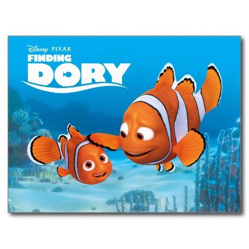 Nemo & Marlin #tarjeta #postal #postcard