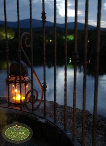 Velas e iluminación, finca bodas Madrid, http://www.buscabodas.com
