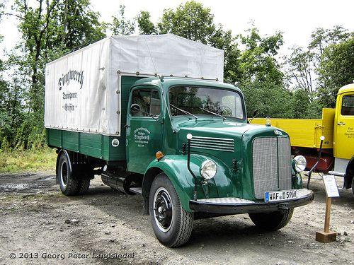 45 best images about mb oldtimer trucks bus transporter on for Old mercedes benz trucks
