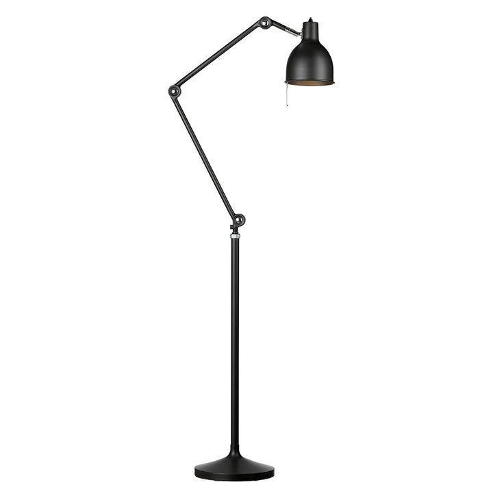 PJ80 Gulvlampe, Svart - Box Arkitekter - Örsjö Belysning - RoyalDesign.no