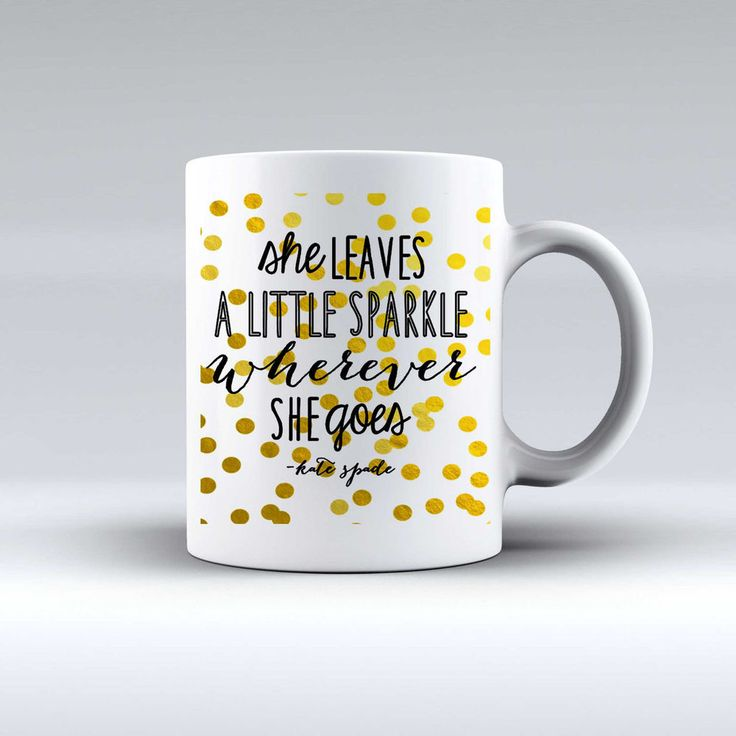 NEW Hot She Leaves A Little Sparkle Quote Custom Design White Mug Tea Coffee Cup #Unbranded  #Modern #Cheap #New #Best #Seller #Design #Custom #Gift #Birthday #Anniversary #Friend #Graduation #Family #Hot #Limited #Elegant #Luxury #Sport #Special #Hot #Rare #Cool #Top #Famous #Mug #White