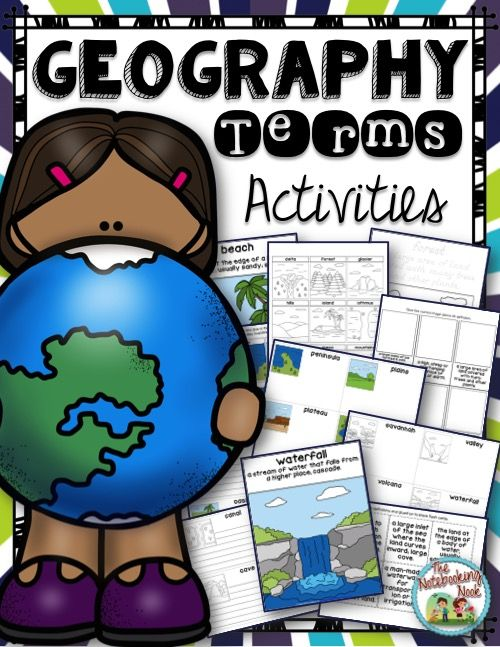 geography terms and definitions pdf