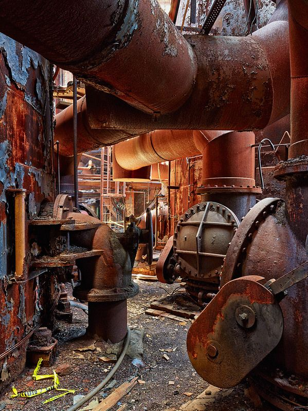 Lost | Forgotten | Abandoned | Displaced | Decayed | Neglected | Discarded | Disrepair | The abandoned Carrie Furnaces in Rankin, PA.
