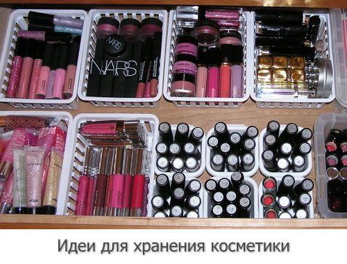 Хранение косметики