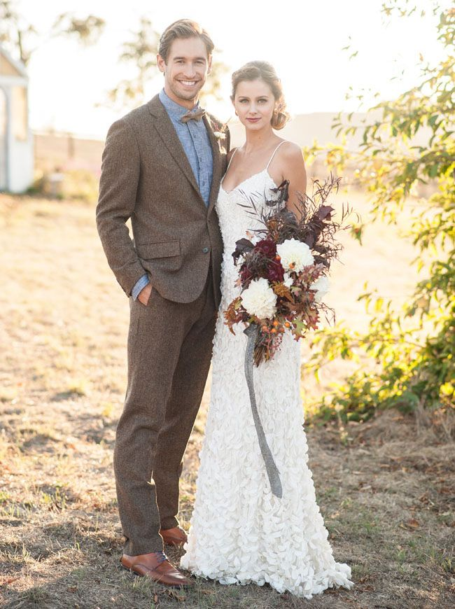 Resultado de imagen para autumn wedding dress groom