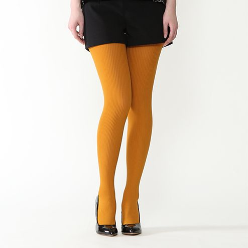 150D RIBBED TIGHTS (M) Tabio Online Socks and Tights Speciality Store