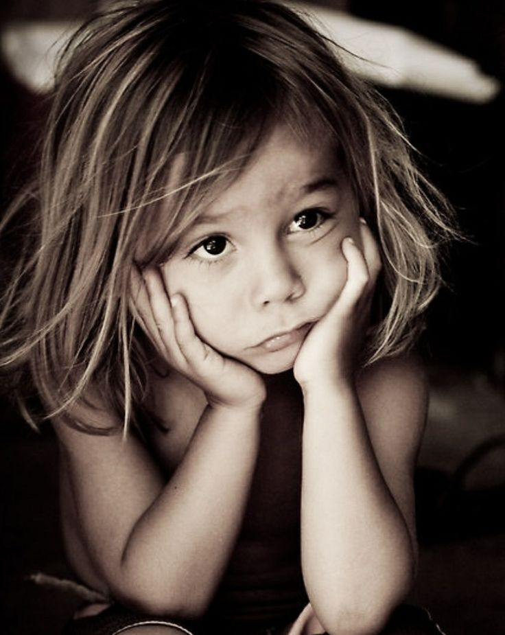 Обиженная девочка картинки