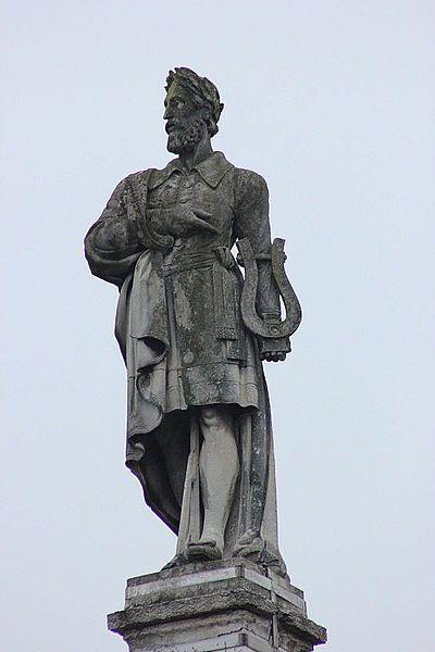 Ludovico Ariosto Мonument, Ferrara, Italia