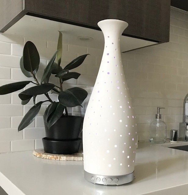 Essenza Ceramic Vase Ultrasonic Diffuser ** FREE SHIPPING **