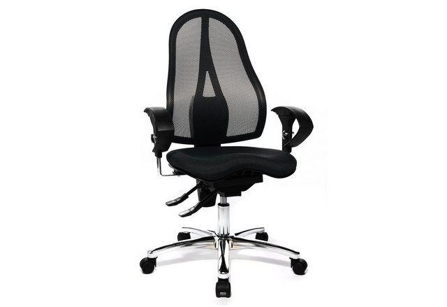 Drehstuhl Sitness 15 St19u In 2 Farben Mit Dreidimensional Beweglicher Sitzflache Drehstuhl Armlehnen Und Stuhle