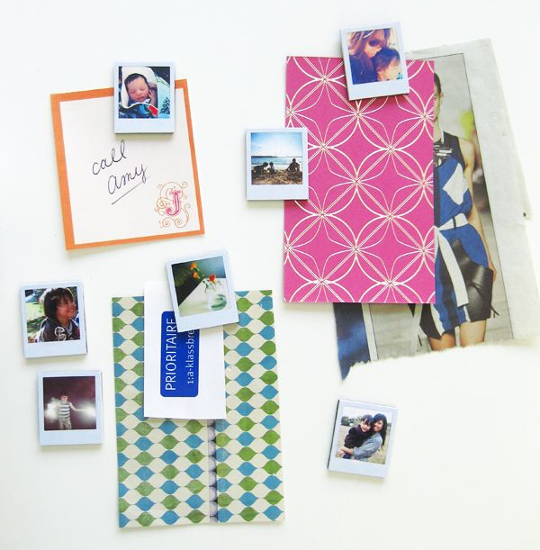 First on my to-do craft list! I always want cool magnets and like lots of pictures on the fridge... best of both worlds... and what a great gift idea for family!!: Crafts Ideas, Photos Ideas, Gifts Ideas, Polaroid Magnets, Diy Christmas Gifts, Tiny Polaroid, Minis Polaroid, Diy Projects, Ambrosia Creative