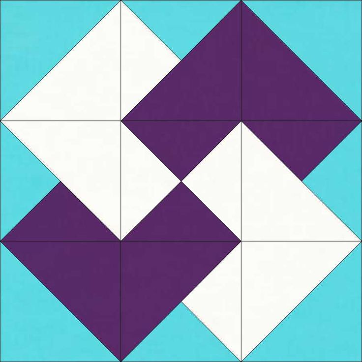 Free 10 Quilt Block Patterns | Traditional Patchwork Quilt Pattern and Tutorial (Part 12)