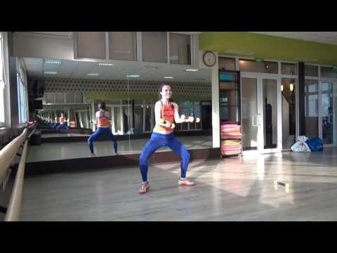 (1) ZUMBA Toning - Desde Esa Noche  - Thalía ft. Maluma - YouTube