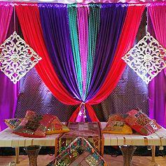 Indian Wedding Backdrop Decorations By RR Event Rentals