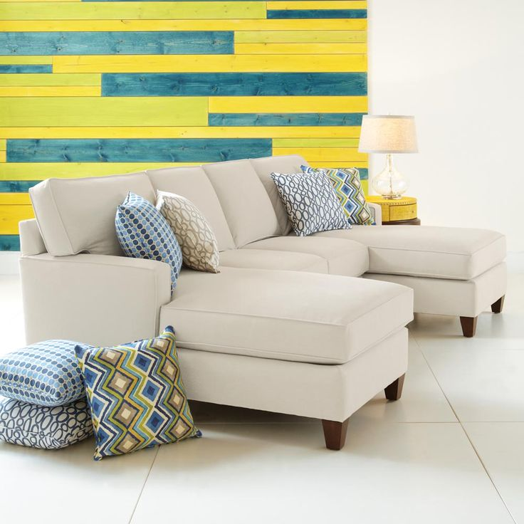 Shop For HGTV HOME Furniture Collection Armless Loveseat And Other Living Room Sectionals The Park Avenue Group Has A Stylish Track Arm T Cushion