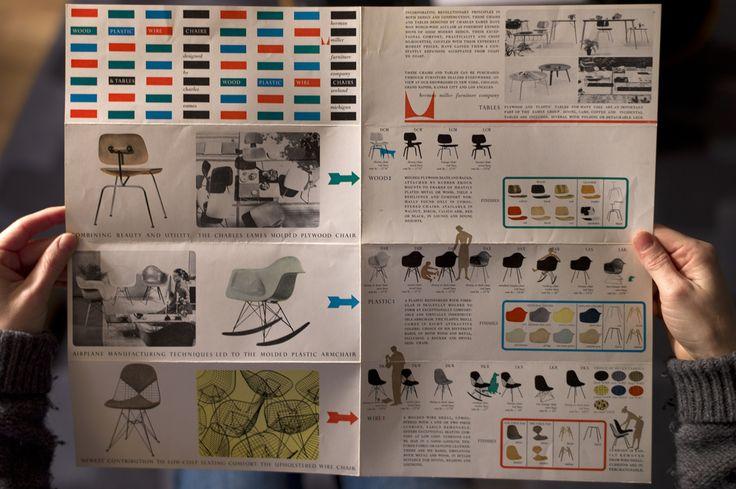 Vintage 1951 Herman Miller Eames Furniture brochure | Flickr - Photo Sharing!