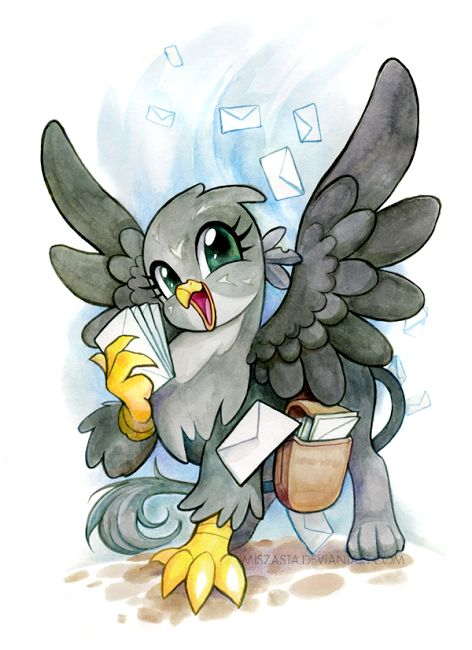 Gabby by miszasta Cute! I wonder if he/she has a how to draw mlp griffons