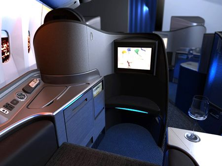 United Airlines First Class Suite
