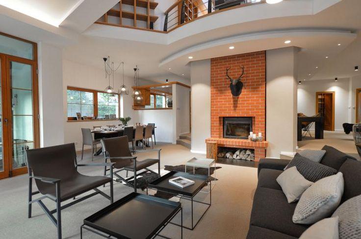 Světlý sisalový koberec v interiéru, podlahy BOCA. / light brown sisal carpet in the interior, BOCA floors.    http://www.bocapraha.cz/cs/reference-detail/98/rodinny-dum-klanovice/
