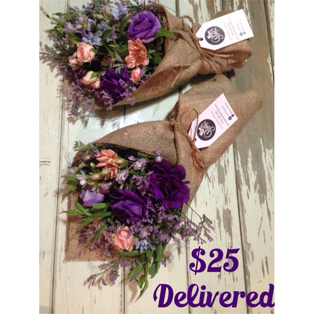 Wednesday's Poco Bunch! Hurry up before they sell out! $25 delivered to Brisbane CBD + 10km radius. Call, text or email us now. pocoposy@gmail.com or 0412449682. 11 March 2015