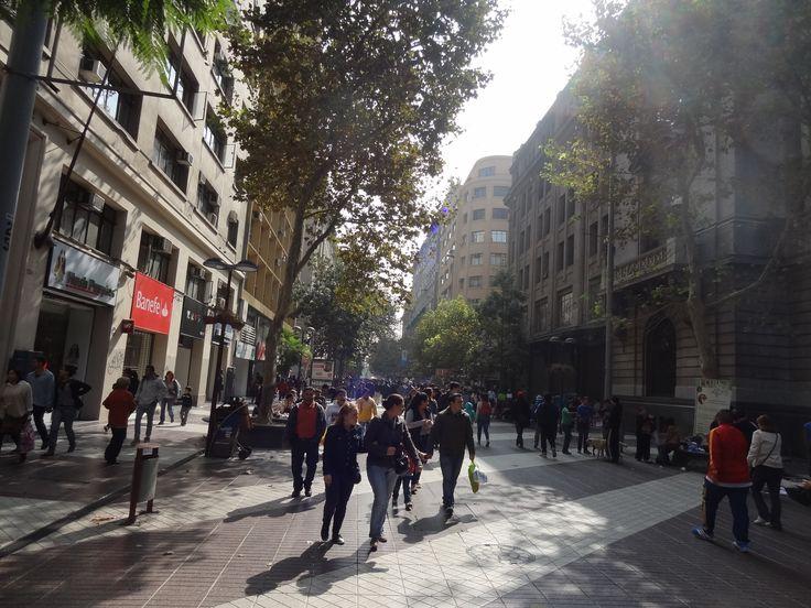 * Peatonal Ahumada, Santiago