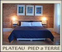 For a romantic weekend in Montreal, at a Montreal getaway steps from the Main and Parc Mont Royal.