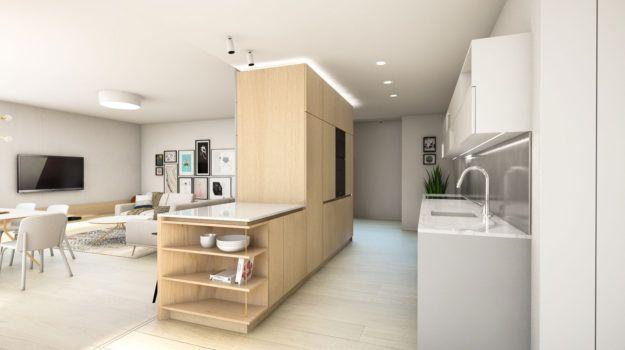 Interiér bytu Komárnícka / Reconstruction of a flat in Bratislava