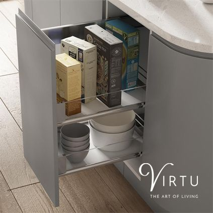 Large Storage Unit. Perfect for packaged food & crockery - available in 300mm & 400mm.  #TheArtofLiving