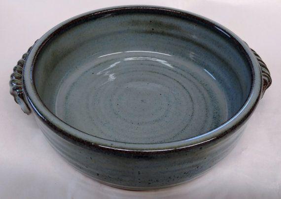 Handmade ceramic baking dish individual baking by PlayinMud420