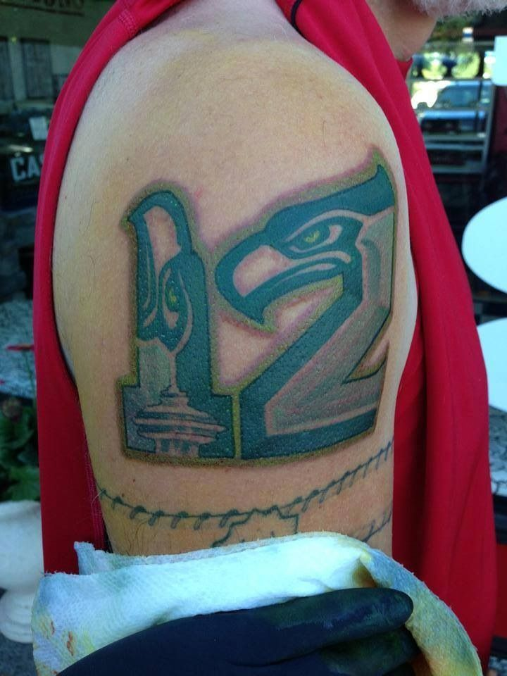 17 best seattle seahawks tattoo 39 s images on pinterest