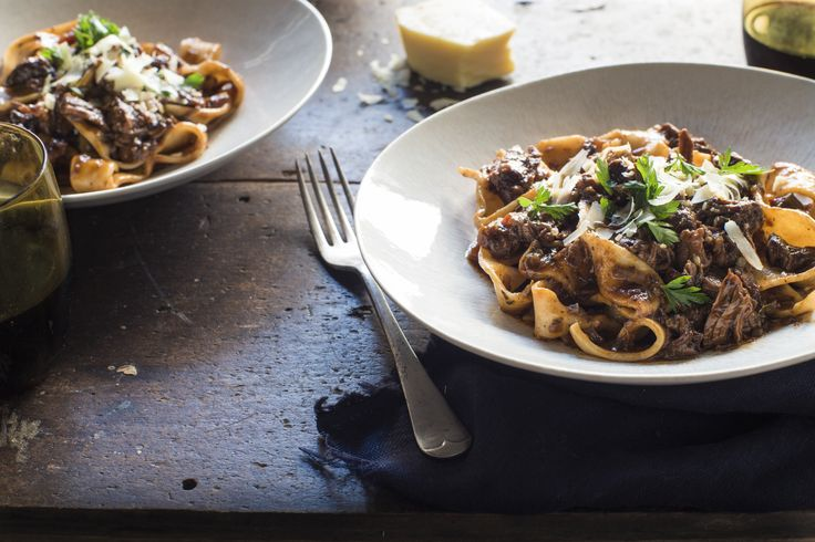 Delicious, affordable and meltingly tender beef shin ragu recipe from Chelsea Winter