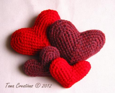 Will have to makeCrochet Projects, Free Pattern, Amigurumi Heart, 2012 Tomas, Crochetheart, Crochet Heart, Tomas Creations, Crochet Pattern, Heart Pattern