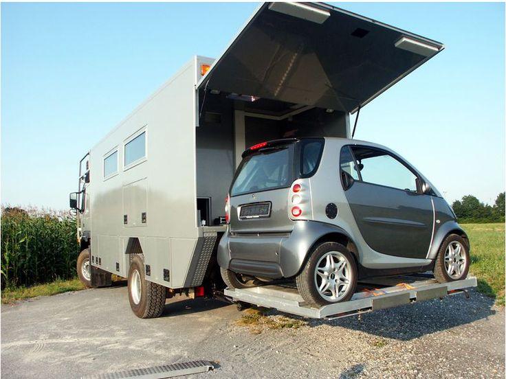 volvo fm12 4x4 adventure camper caravans camping and. Black Bedroom Furniture Sets. Home Design Ideas