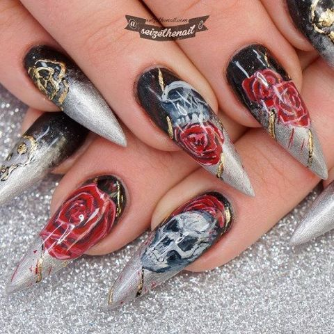 (notitle) – Stiletto Nails.