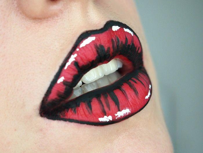 Halloween Ideen Lippen