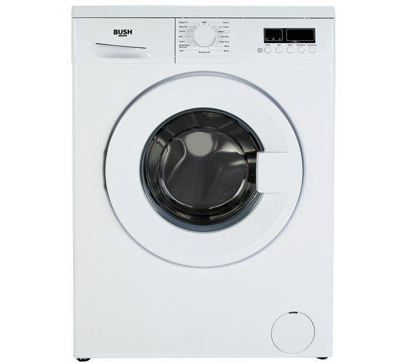 Buy Bush WMDF814W 8KG 1400 Spin Washing Machine - White at Argos.co.uk, visit Argos.co.uk to shop online for Washing machines, Large kitchen appliances, Home and garden