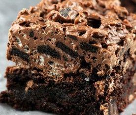 Nutella Kit  Kat Oreo brownies