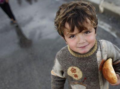 A Syrian refugee boy. Reuters.