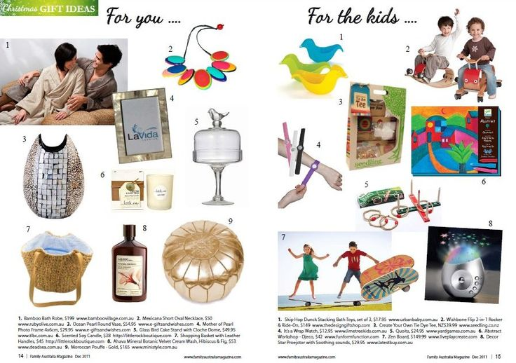 Check out our feature in Family Australia, Dec 2011. #press #feature #bamboo
