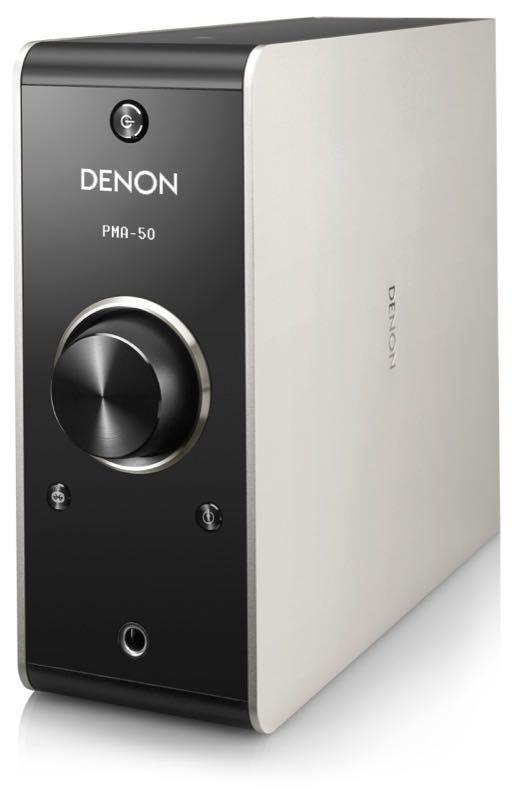 Il Denon PMA-50 è solo l'ultimo degli amplificatori integrati con DAC che dà l'assalto al settore desktop audio. E lo fa col pieno supporto al DSD.
