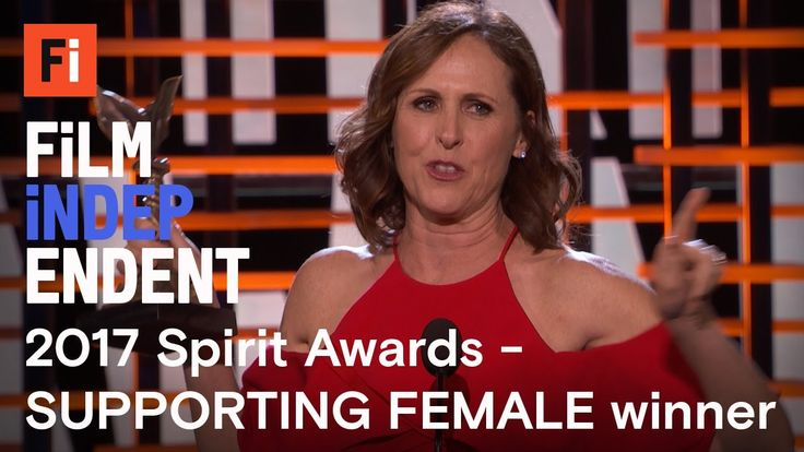 Molly Shannon wins Best Supporting Female at the 2017 Film Independent S...