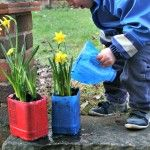 Gardening With Kids – Recycled Planter and Water Jug