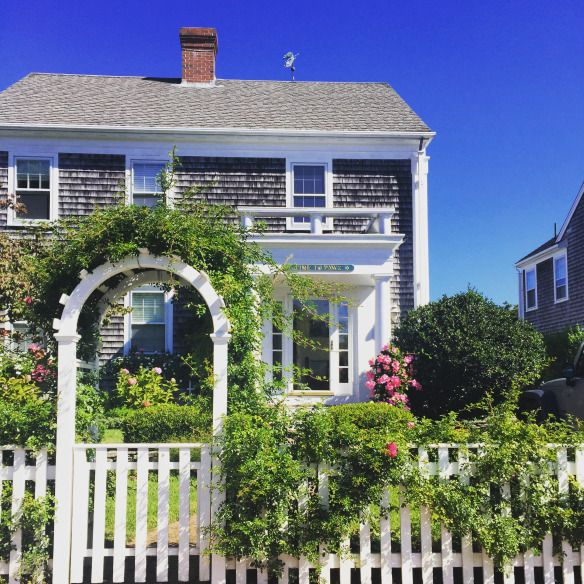 Nantucket Home By The Potted Boxwood Doors Entry Ways