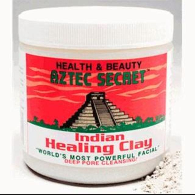 It's hard to control facial breakouts. My secret is the Aztec Secret! This Indian Healing Clay product is the best in the world! I have been using it for over a year now, and have seen a definite difference in my complexion. The Aztec Secret Indian Healing Clay is 100 percent all natural calcium bentonite clay. It can be used for acne, body wraps, clay baths, foot soaks, or chilled for knee packs and insect bites. This is the only product you'll ever need!  Just take about a teaspoon full of clay and mix it with an equal part of water or raw apple cider vinegar. Smooth the paste over the face and let it sit for about 15 minutes or until dry. As it dries you face will begin to pulsate. The pulsation feels like a face massage! After the time is up simply wash the wash off with warm water.  You will see your clean pores immediately! Your skin may be red for a few minutes, but don't worry the redness disappears pretty fast. I use the Indian Healing Clay about once every two weeks to keep my skin clean and control breakouts.  There are no fragrances, dyes, or other artificial ingredients. No animal testing was done on their products. This clay is produced in Pahrump, Nevada. You can purchase the Aztec Secret at the Vitamin Shoppe online or a local health food store.: Apples Cider, Bentonite Clay, Clay Cleanser, Calcium Bentonite, Aztec Secret, Indian Healing Clay, Body Products, Natural Hair, Secret Indian