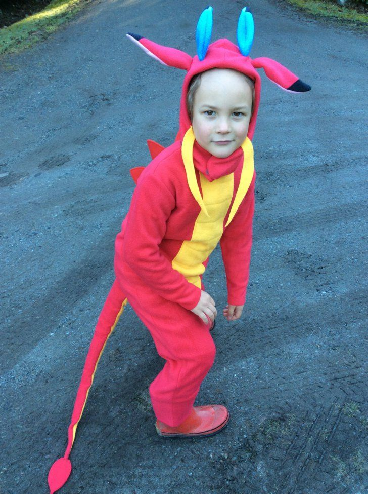21 DIY Disney Costumes to Make Your Kid For Halloween This Year Mushu