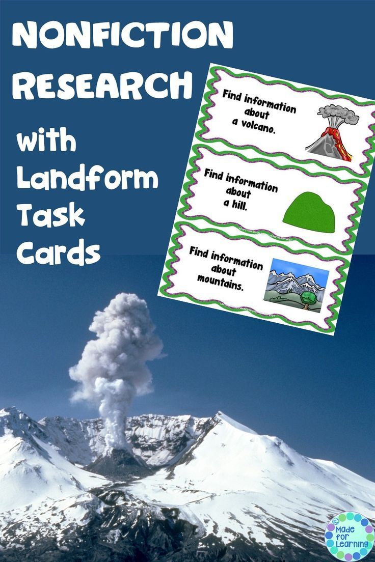 Workbooks landform matching worksheets : The 25+ best Land forms ideas on Pinterest | Geography activities ...